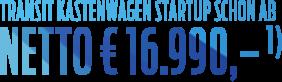 Transit EUR 16990
