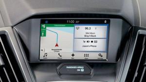 Transit Fahrgestell Bildschirm