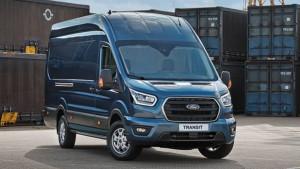 Ford Transit blau