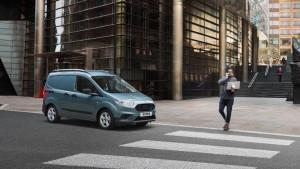 Ford Transit Courier EBA Sicherheitsbremsassistent