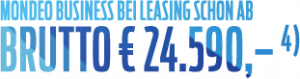 PKW Mondeo EUR 24590